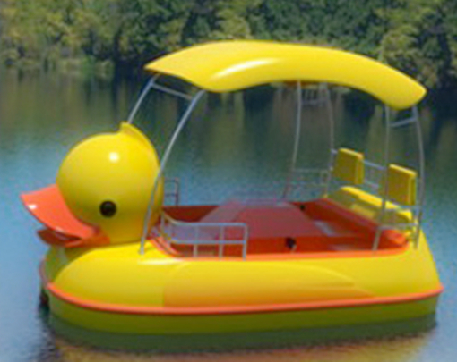 4 seat yellow paddle boats for sale