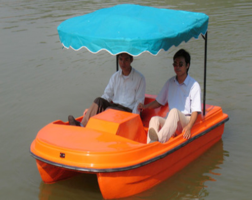 Amusement park paddle boat for sale with 2 seats