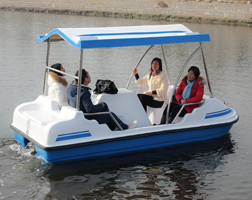 5 Person Paddle Boats for Sale From Water Rides Manufacturer