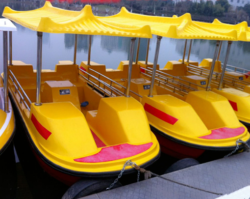Water pool large pedal boats for family