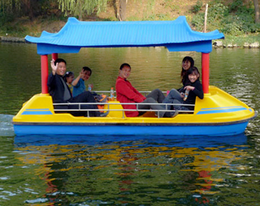 Pedal boat for amusement park