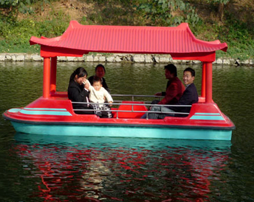 Paddle boat for pool in the amusement park with 4 seat
