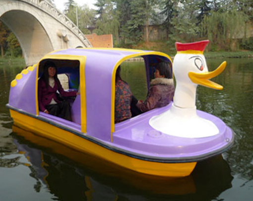 Donald Duck  Paddle Boat With 4 Seat