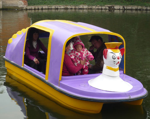 Amusement park paddle boat for sale with 4 seat