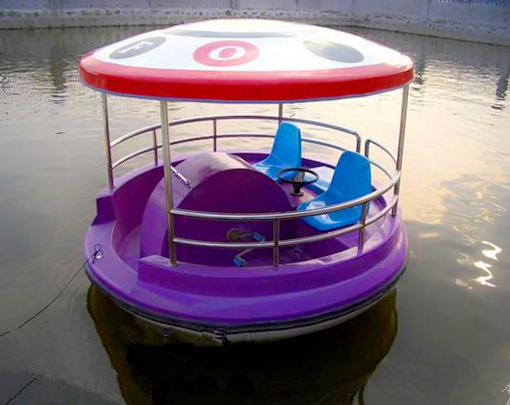 Amusement park cheap paddle boat with 2 seat