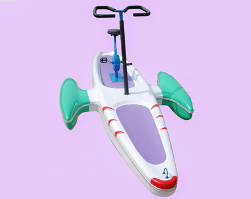Beston amusement water bicycle with 1 person