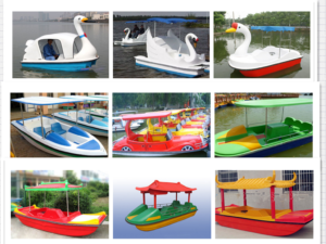 Amusement Park Paddle Boats for Sale