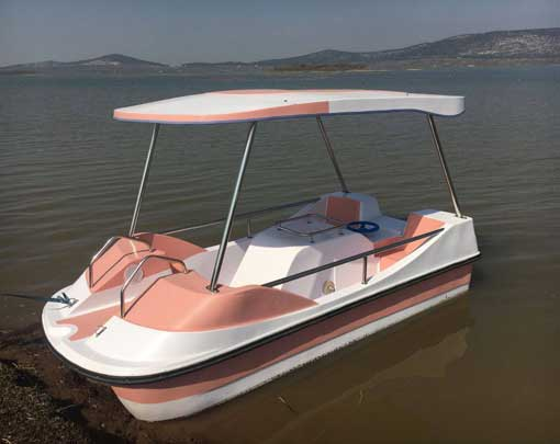 Bse 4b Small Electric Boats Electric Motor Boat For Water Park