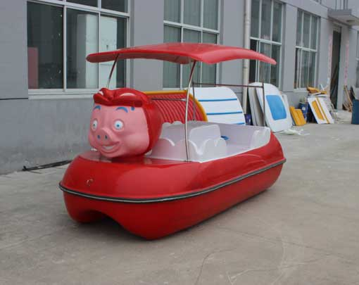 4 Seater Pig Paddle Boat for Sale