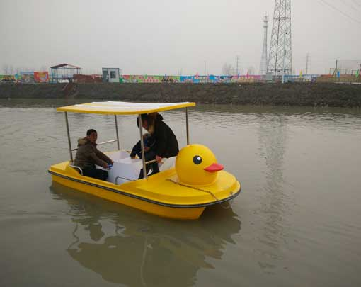 4 Seat Yellow Duck Paddle Boat from Our Factory
