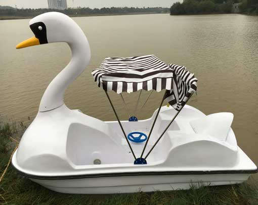 2 Person Swan Paddle Boat for Sale