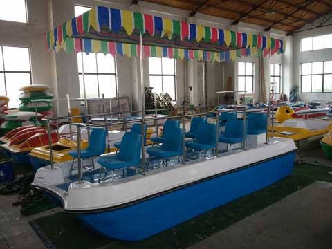 Electric Powered Boats With 10 Seats