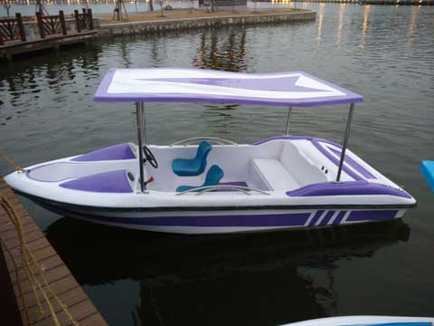 4 Seat Electric Powered Boats for Sale
