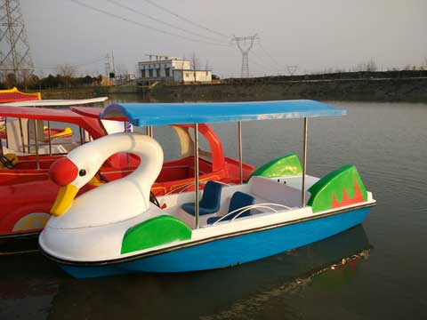 4 Seat Swan Electric Powered Boats Manufacturer