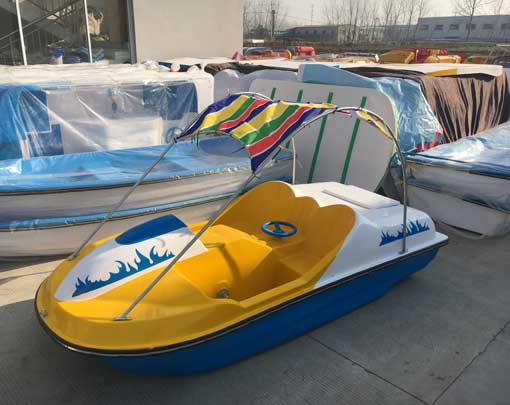 Yellow Electric Paddle Boats for Sale